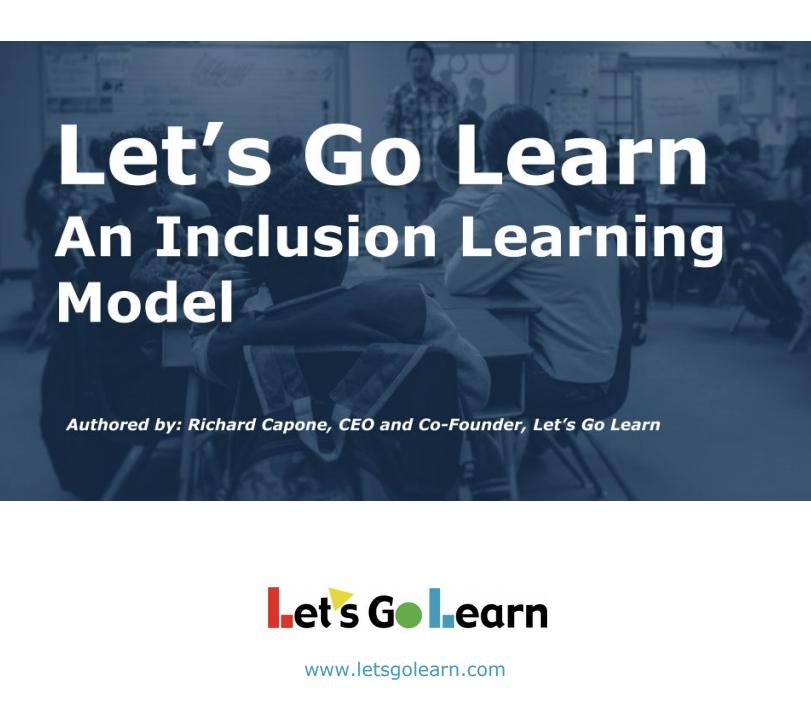 Inclusion White Paper