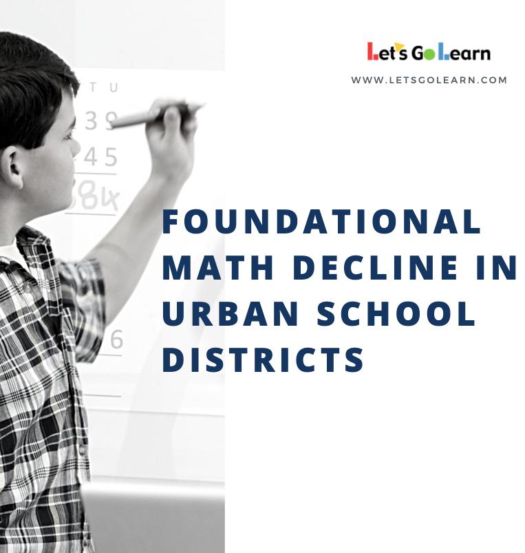 Foundational Math Decline