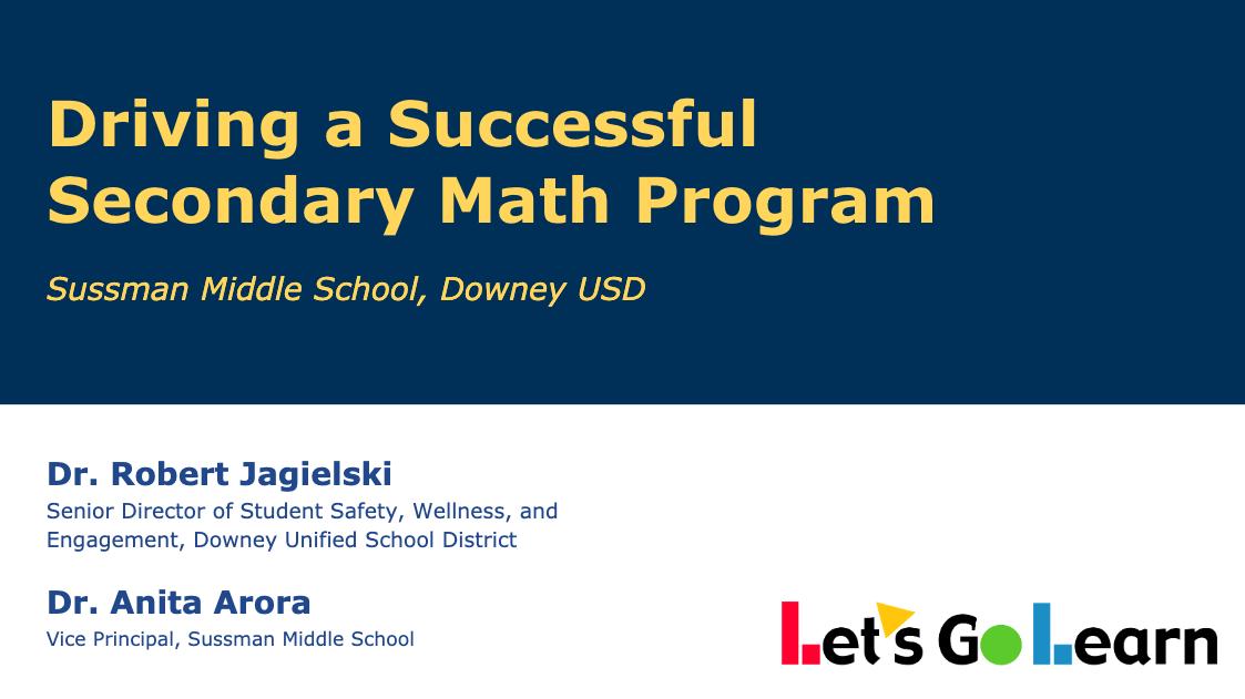 Secondary Math eBook